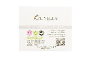 Крем д/лица Olivella на осн олив масла против морщ