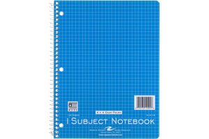 Roaring Spring 1 Subject Notebook - 100 Sheets
