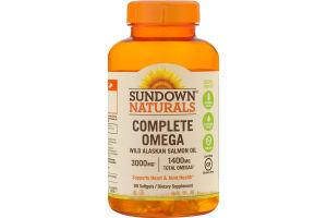 Sundown Naturals Complete Omega 3000mg Softgels - 90 CT