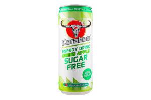 Напиток энергетич Carabao GreenApple SugarFree б/а