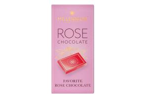 Шоколад білий Rose Millennium к/у 100г