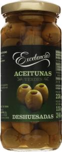 Оливки Excelencia 260г зелені б.к с.б