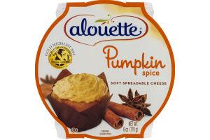 Alouette Soft Spreadable Cheese Pumpkin Spice