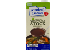 Kitchen Basics Vegetable Stock Unsalted