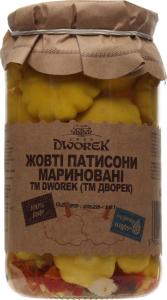Патиссоны желтые маринованные Dworek с/б 840г