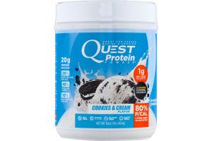 Quest Protein Powder Cookies & Cream Flavor