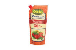 Майонез 50% Чудовий Оліс д/п 300г