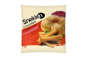 Сухарики пшенично-ржаные со вкусом Холодец с хреном Snekkin м/у 35г