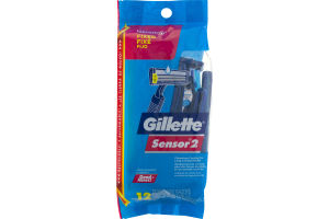 Gillette Sensor2 Disposable Razors - 12 CT