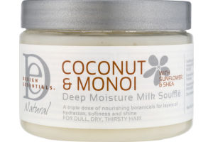 Design Essentials Deep Moisture Milk Souffle Coconut & Monoi
