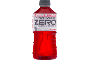 Powerade Zero Calorie Sports Drink Fruit Punch