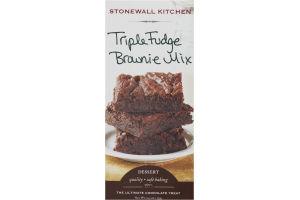 Stonewall Kitchen Triple Fudge Brownie Mix