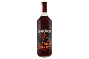 Ром Captain Morgan black 40% 1л