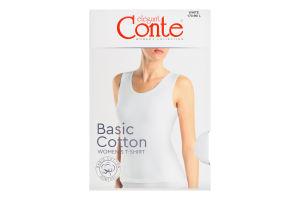 Майка жіноча Conte elegant Basic Collection №LM2020 170-96/L white