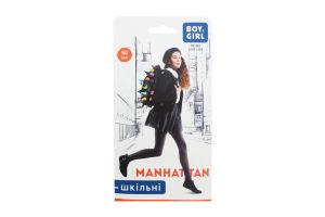 Колготи дитячі Boy&Girl Manhattan 50den 152-158 grey