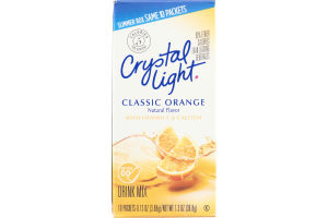 Crystal Light Drink Mix Packets Classic Orange - 10 CT
