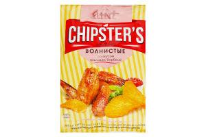 Чіпси Chipster`s зі смаком крилець барбекю 70г х20