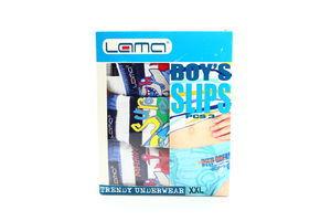 Труси Lama Boy's Slips для хлопчиків XXL 3шт