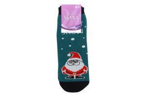 Шкарпетки жіночі Легка хода №5386 23 темно-бірюзовий меланж