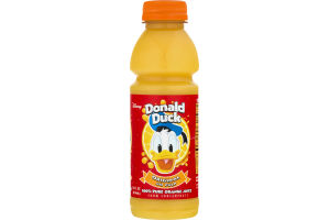 Disney Donald Duck 100% Pure Orange Juice Original No Pulp