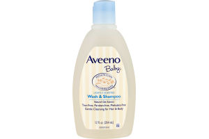 Aveeno Baby Wash & Shampoo Lightly Scented