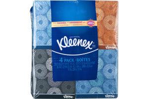 Kleenex 2-Ply White Tissues - 4 Pack