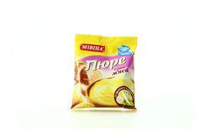 Пюре быстрого приготовления картофельное со вкусом мяса Мівіна м/у 37г