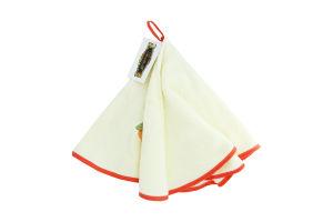 Полотенце махровZastelli с вышивкой круглое d60см