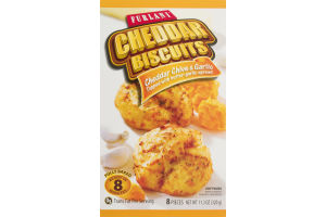 Furlani Cheddar Biscuits Cheddar Chive & Garlic