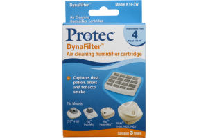 Protec DynaFilter Air Cleaning Humidifier Refill Cartridge Model K14-3W - 3 CT