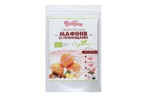 Суміш для приготування мафінів з прянощами органічна Добрик д/п 250г