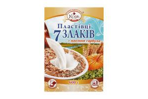 Пластівці 7 злаків+насіння гарбуза Козуб продукт к/у 600г