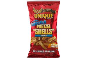 "Unique Flavor Shocked Pretzel ""Shells"" Buffalo"