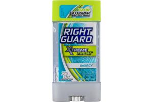 Right Guard Xtreme Fresh Antiperspirant & Deodorant Gel Energy