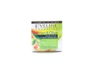 Крем для лица дневной увлажняющий Argan&Olive Eveline 50мл