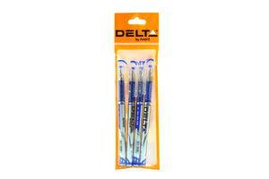 Ручка Delta гелева 4шт 14269