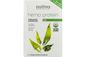 Nutiva Hemp Protein - 12 CT