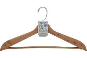Cedar America Protect & Refresh Fresh Cut Cedar Hangers - 3 CT