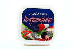 Селедка филе-кусочки По-французки GranMarine 300г