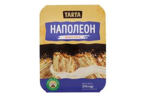 Торт листковий Наполеон Tarta п/у 370г