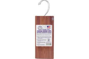 Cedar America Natural Aromatic Cedar Hang Ups - 2 CT