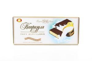 Торт ХБФ вафельний Капризуля молоко 260г х10