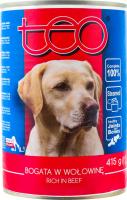 ТЕО консерва для собак З ЯЛОВИЧИНОЮ 415 г