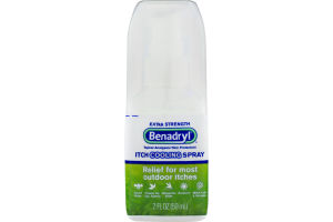 Benadryl Itch Cooling Spray Extra Strength