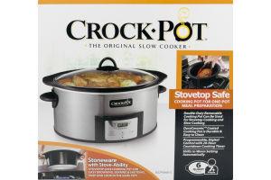 Crock-Pot Stove Safe - 6 Quart