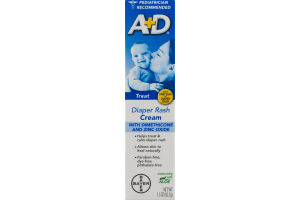 A+D Diaper Rash Cream with Aloe