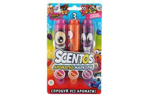 Набор ароматных маркеров для рисования - СОЧНОЕ ТРИО (3 цвета)