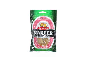 Бычок солено-сушеное филе б/ш Пивний Nabeer м/у 20г
