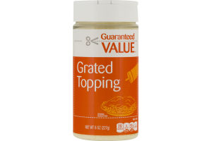 Guaranteed Value Grated Topping