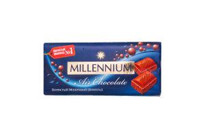 Шоколад молочный пористый Premium Millennium 90г